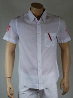 chemise homme blanche manche courte 55 DSL ( by diesel ) taille XL
