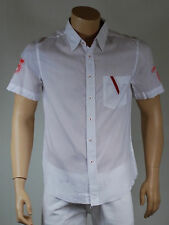 chemise homme blanche manches courte 55 DSL ( by diesel ) taille M