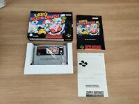 KIRBY'S DREAM COURSE - SNES Super Nintendo Game - PAL EUR Version - COMPLETE VGC