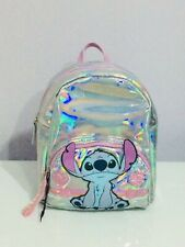 Primark Disney Stitch & Lilo BackPack Girls Women Holographic Christmas Gift