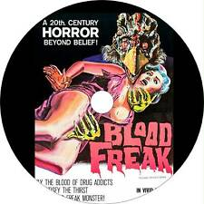 Blood Freak (1972) Horror, Sci-Fi Movie / Film on Dvd