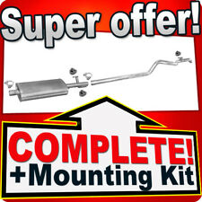 MERCEDES SPRINTER 308 311 313 316 CDI LWB with KAT Silencer Exhaust System A24B