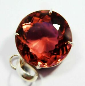 CERTIFIED Round Shape 58 Ct Color Change Alexandrite Pendent Loose Gemstone