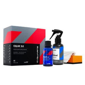 CarPro Cquartz UK Edition 3.0 30ml Kit Paint Coat Ceramic Set + Reload 100ml