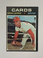 1971 Topps #55 Steve Carlton HOF St. Louis Cardinals EX