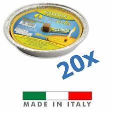 🔥 20 Candele Profumate Citronella 11cm in Alluminio Anti Zanzare Citronelle 🔥