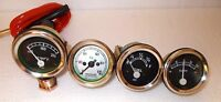DAVID BROWN Tractor Gauge Set Fuel,Temperature,Oil Pressure,Ammeter Mechanical