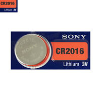 1 x SONY Lithium CR2016 battery 3V Coin Cell DL2016 ERC2016 BR2016 EXP:2025