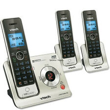 Vtech DECT 3 Cordless Handset Answering System Talking Caller ID HD LS6425-3 New
