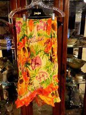 Jams World Skirt  Hawaiian Asymmetrical NEW NWT Ruffles S Kamaka Ukes Hattie