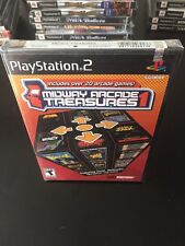 Midway Arcade Treasures PS2 Game Includes Over 20 Arcade Games Gauntlet New