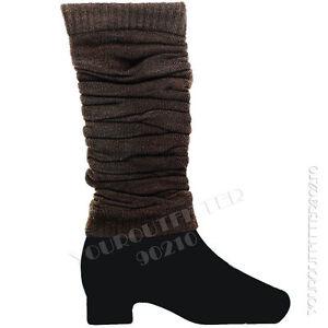 Women Leg Warmer Socks Pair Design Winter Fashion Lady Legging Knee High Girl