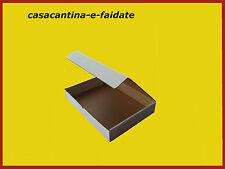 SCATOLE CARTONE IMBALLAGGIO BIANCHE 34X30X6 10 PZ. COMPATIBILE A4 PER DOCUMENTI