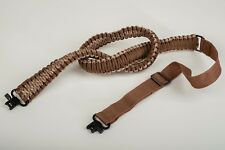 AirForceOne® 'ParaSling' 550 Camo Paracord Rifle Sling- Desert Storm/Brown