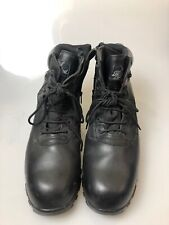 Thorogood Boots 15W Mens Work Boots Black Lace Up Waterproof Oil Resistant