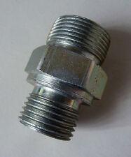 """Adapter; gerader Verbinder; Verschraubung Außengewinde M21 (½"""") - M24x 1,5"""
