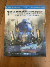 Transformers: Dark of the Moon (Blu-ray/DVD, 2012, 4-Disc Set, 3D Ultimate ED