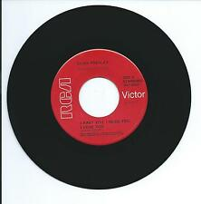 "1956 ELVIS ""I WANT YOU, I NEED YOU, I LOVE YOU"" 45rpm 7"""