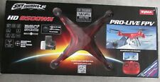 Syma Sky Thunder RC HD 8500WH Drone WiFi Live Stream HD Video Cam Flown 2 Times