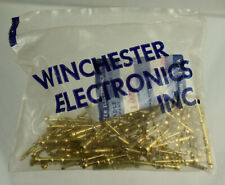 Winchester Electronics 100 1024 P Gold Plated Pin Connector 20-24 AWG Sealed