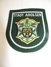 Uniforme Écusson à Broder Armoiries de Ville Arolsen