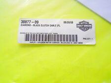 Harley Davidson Diamond-Black Clutch Cable  P/N 38877-09