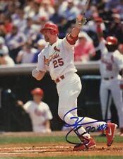 MARK McGWIRE St Louis Cardinals Autographed 8x10 Photo (RP)