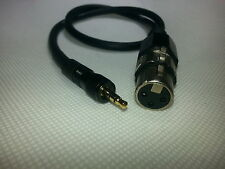 Sennheiser CL2 Locking 3.5mm plug/jack to FEMALE XLR wireless G1/G2/3 microphone