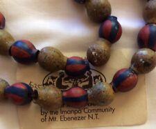 Australiana - Necklace Of Painted Gumnuts - Imanpa Community/ MtEbenezerN.T.
