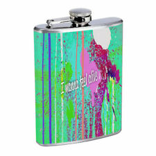 My Girlfriend Em1 Flask 8oz Stainless Steel Hip Drinking Whiskey