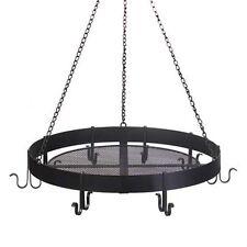 """KITCHEN Pan Pot HOLDER Hanging RACK 17"""""""