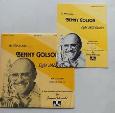 33 TOURS - JAZZ - BENNY GOLSON - EIGHT JAZZ CLASSICS - VOL. 14 AVEC SON LIVRET *