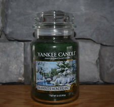 Yankee Candle In A Winter Wonderland 22 oz Jar! Priority Shipping! Sold Out! B21