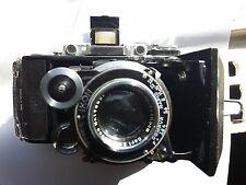 Zeiss Ikon Super Ikonta 531/2 6x9 w/Carl Zeiss Jena Tessar 10.5 Lens w/Case