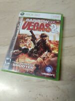 Tom Clancy's Rainbow Six: Vegas 2 (Microsoft Xbox 360, 2008)