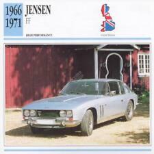 1966-1971 JENSEN FF Classic Car Photo/Info Maxi Card