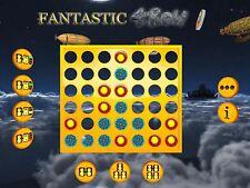 Fantastic 4 In A Row 2 Steam Game Win Mac CD Digital Key Casual Family Friendly