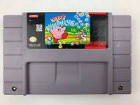 Kirby's Avalanche Snes Super Nintendo Game Tested Works