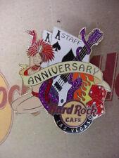 HARD ROCK CAFE*LAS VEGAS,NEVADA*1st ANNIVERSARY*STAFF PIN*MINT*NEW IN BAG