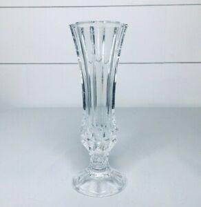 Vintage Small Crystal Clear Flower Vase*