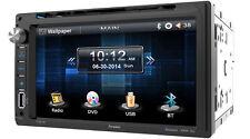 "Farenheit Ti-651B Double Din Dvd/Cd/Wma Player 6.5"" Touchscreen Bluetooth Remote"