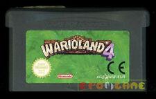 WARIOLAND 4 Gameboy Advance Gba Versione Europea Wario Land ••••• SOLO CARTUCCIA