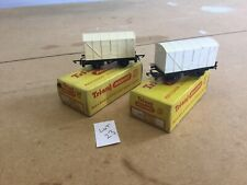 Triang TT Excellent Lot 23 T.175 Meat Wagons X2 Boxed