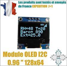 """Module affichage OLED I2C blanc 128x64 0.96 """" SSD1306 u8glib esp8266 arduino"""