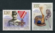 Hungary 2017 MNH 90th Stamp Day Emblem of King's Honour 2v Set Military Stamps