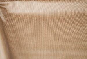 dünner Babycord Feincord Cord Stoff braunbeige Baumwolle Meterware #03050