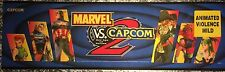 "Marvel vs Capcom 2 Arcade Marquee 26""x8"""