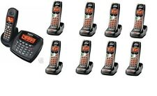 Uniden 2 Line Cordless Intercom Paging Dual Conference Phone System w 9 Handsets