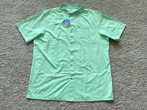 NEW Columbia PFG Fishing Button Shirt men 3XLT