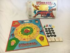 VTG 1977 MB The Amazing Spiderman w/ Fantastic Four Board Game